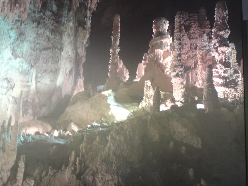 jeskyní komplex Grotte di Frassassi