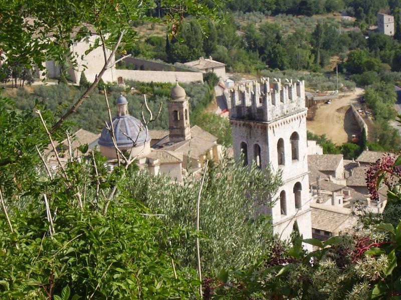 výhled z Assisi