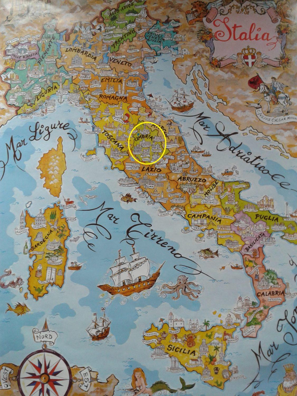 umbrie italský region