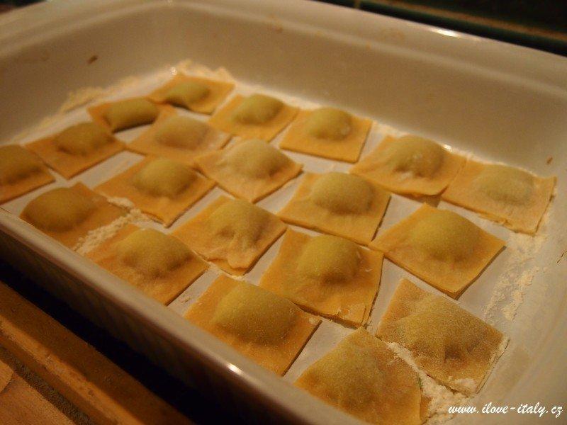 ravioli v itálii jak dělají