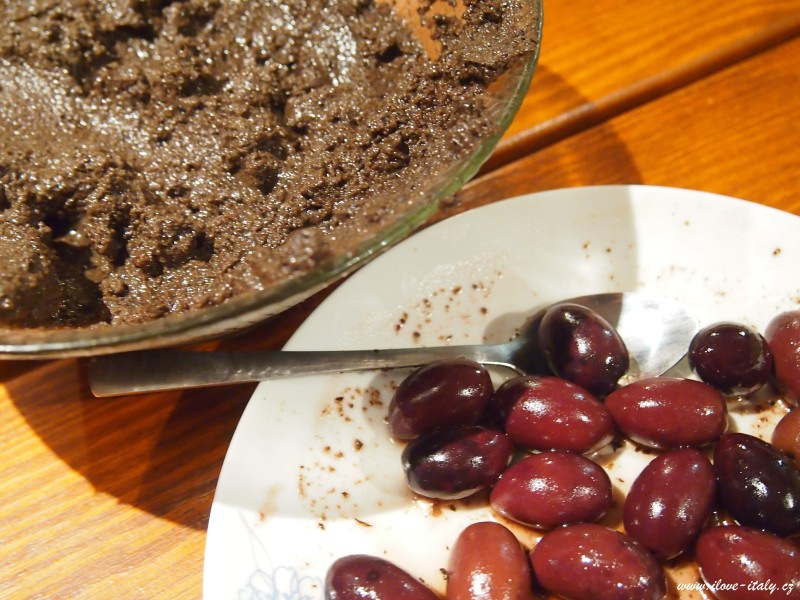 olivový krém