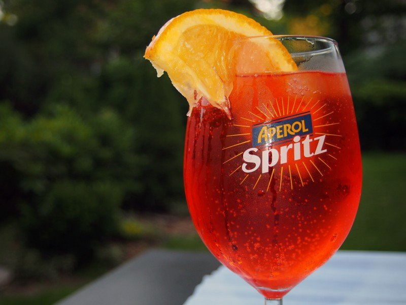 aperol spritz koktejl