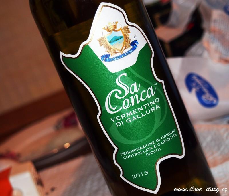 výborné víno ze Sardínie