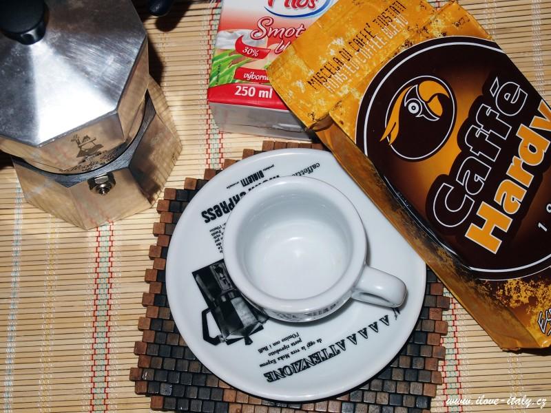 italské kafe