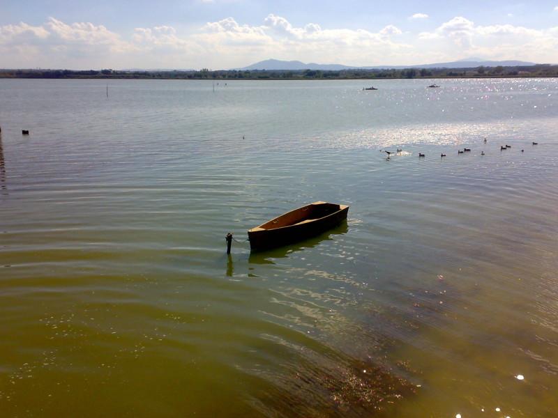 jezero trasimeno v itálii