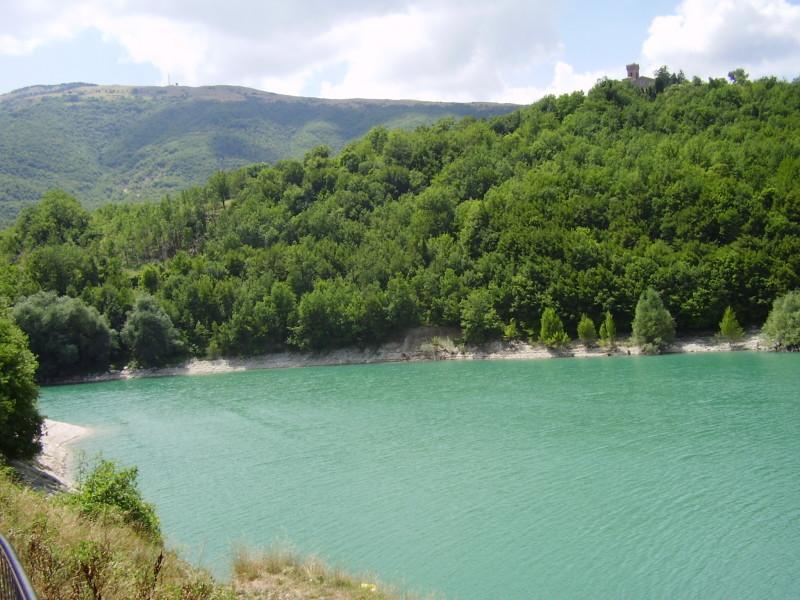 lago di corbara itálie