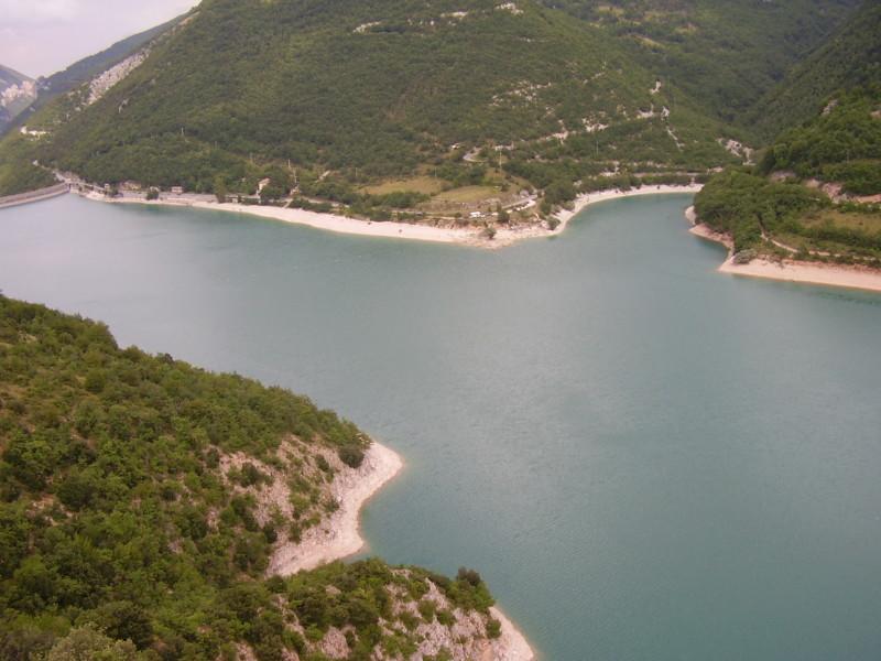 jezero corbara na jihu umbrie