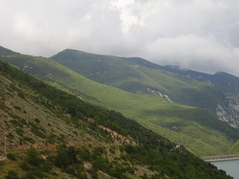 příroda v umbrii - střední itálie