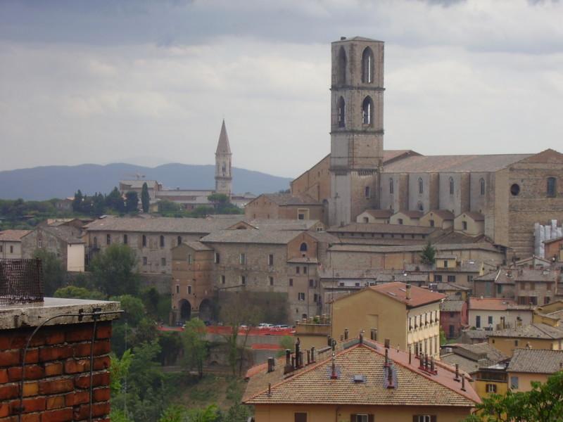 perugia střední itálie
