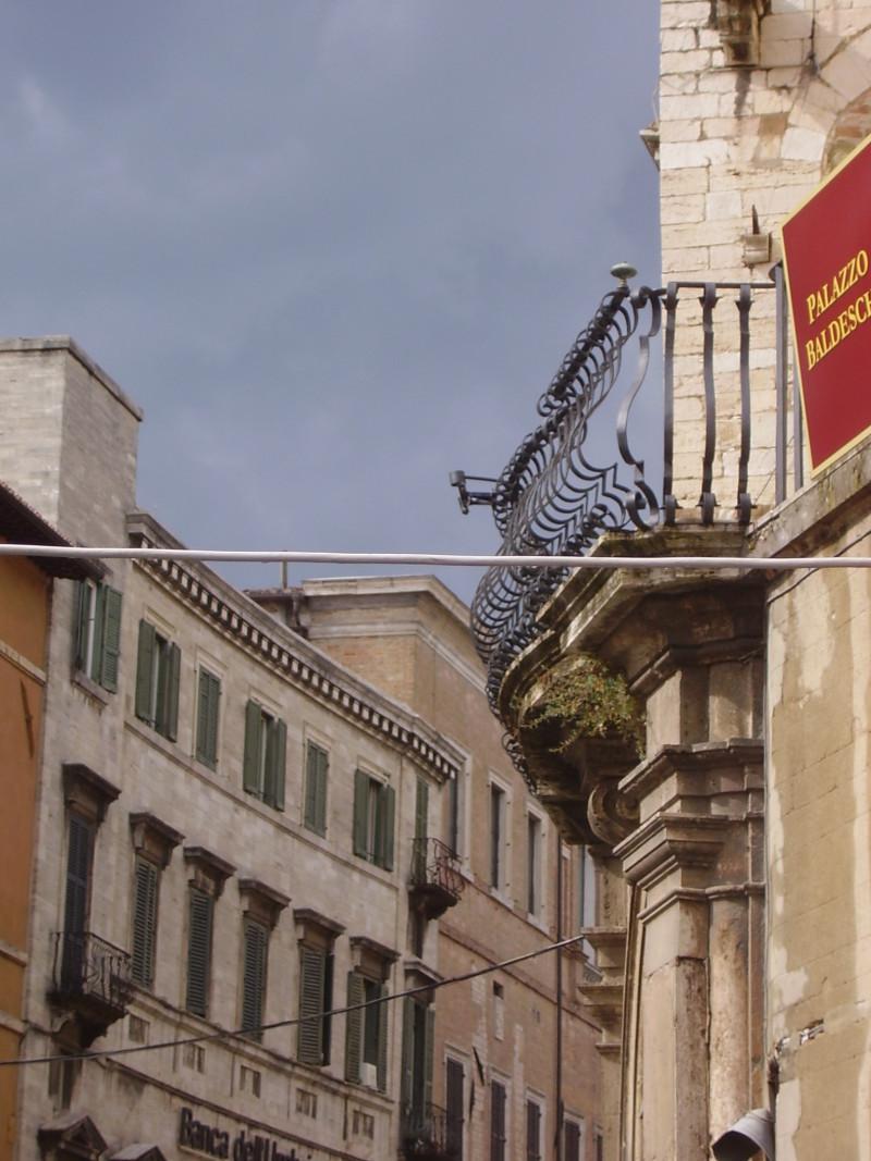středověká města itálie