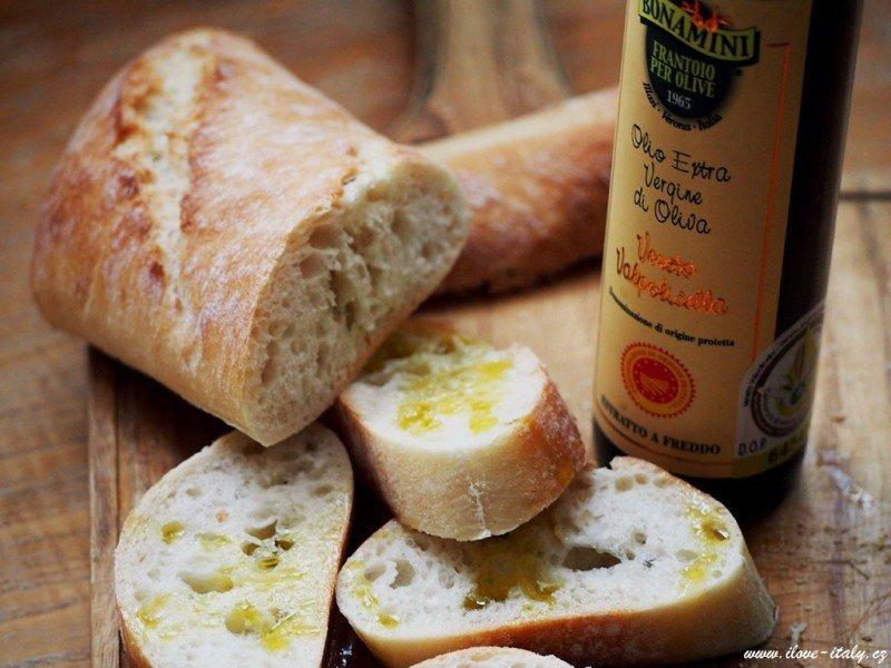 kvalitní italský extrapanenský olivový olej