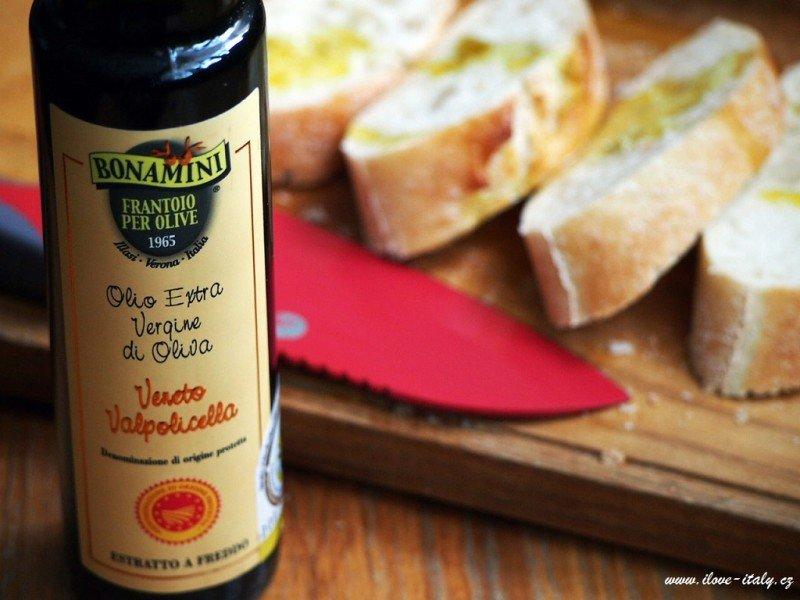 kvalitní italský olivový olej