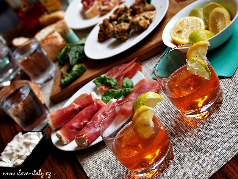 italský aperitiv