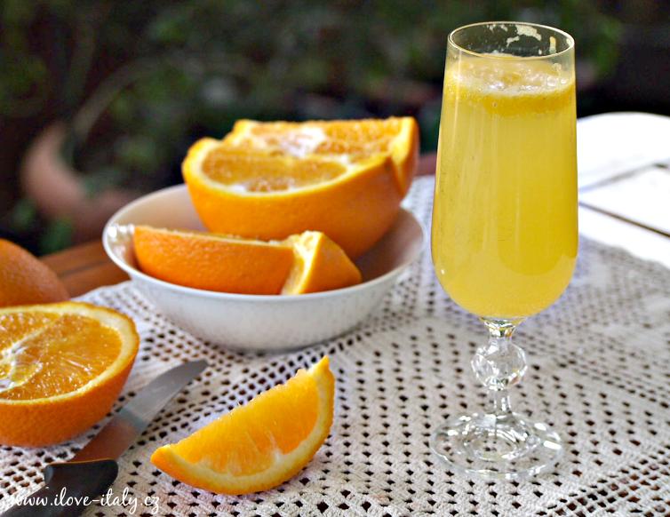pomerančový koktejl mimosa1