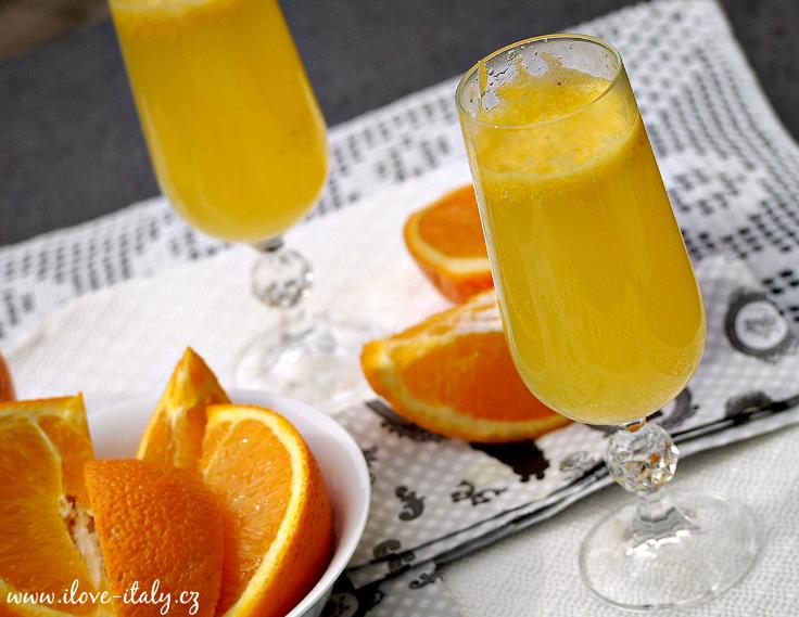 pomerančový koktejl mimosa2