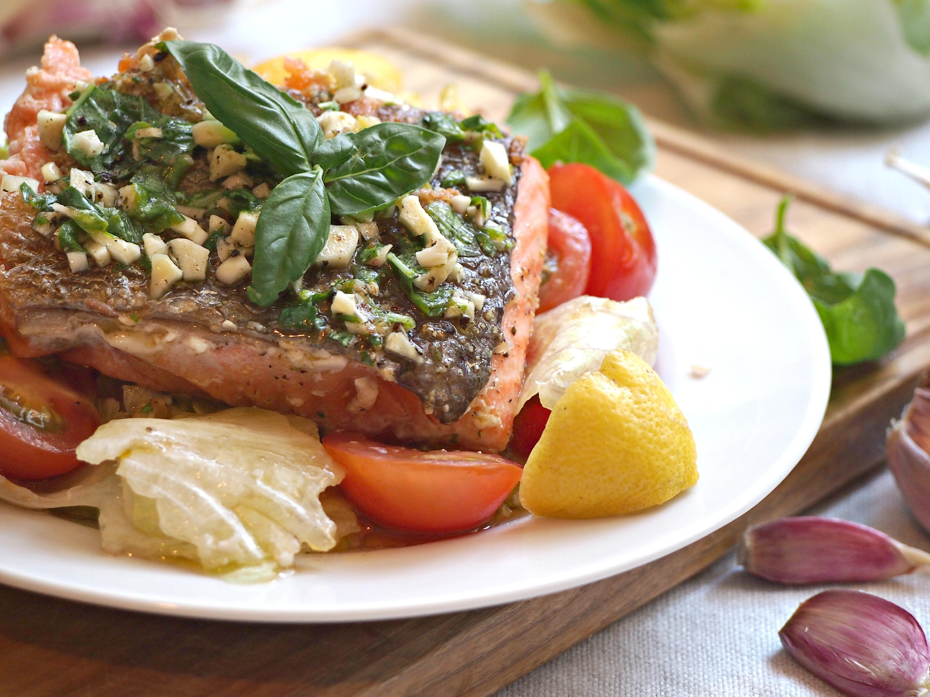 losos recept italský