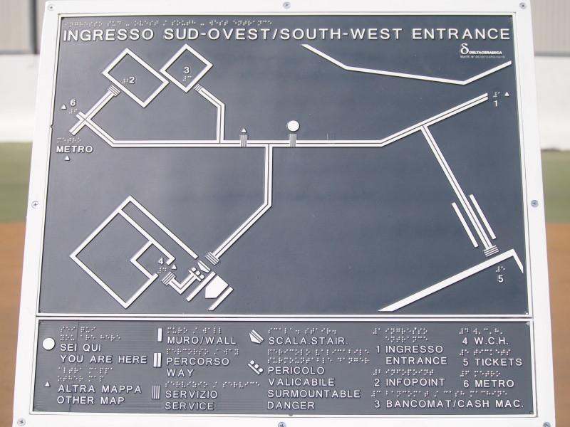 mapa expo milano