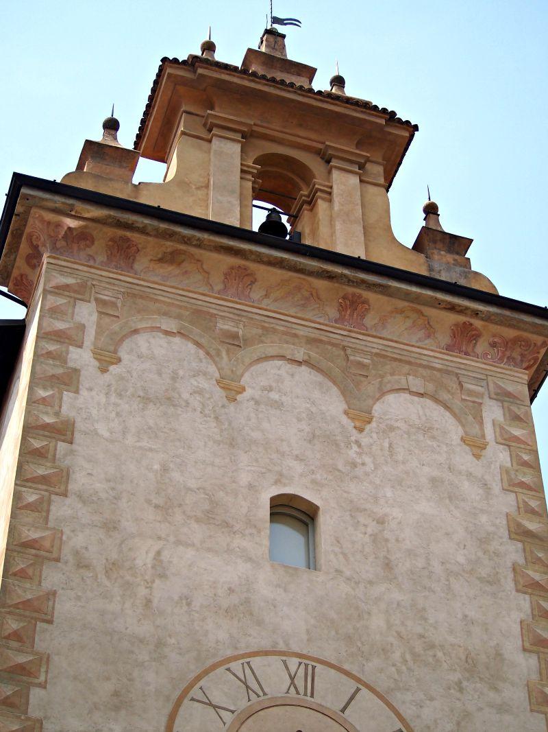 věž itálie bergamo