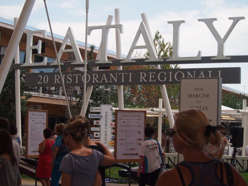 expo eataly regionální restaurace