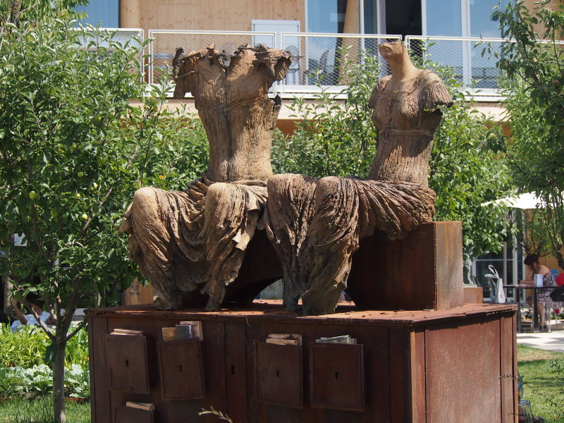 ekologické sochy expo