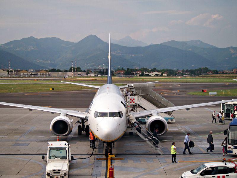 letiště bergamo
