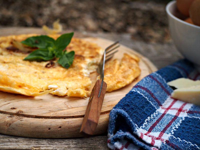 italská omeleta jak
