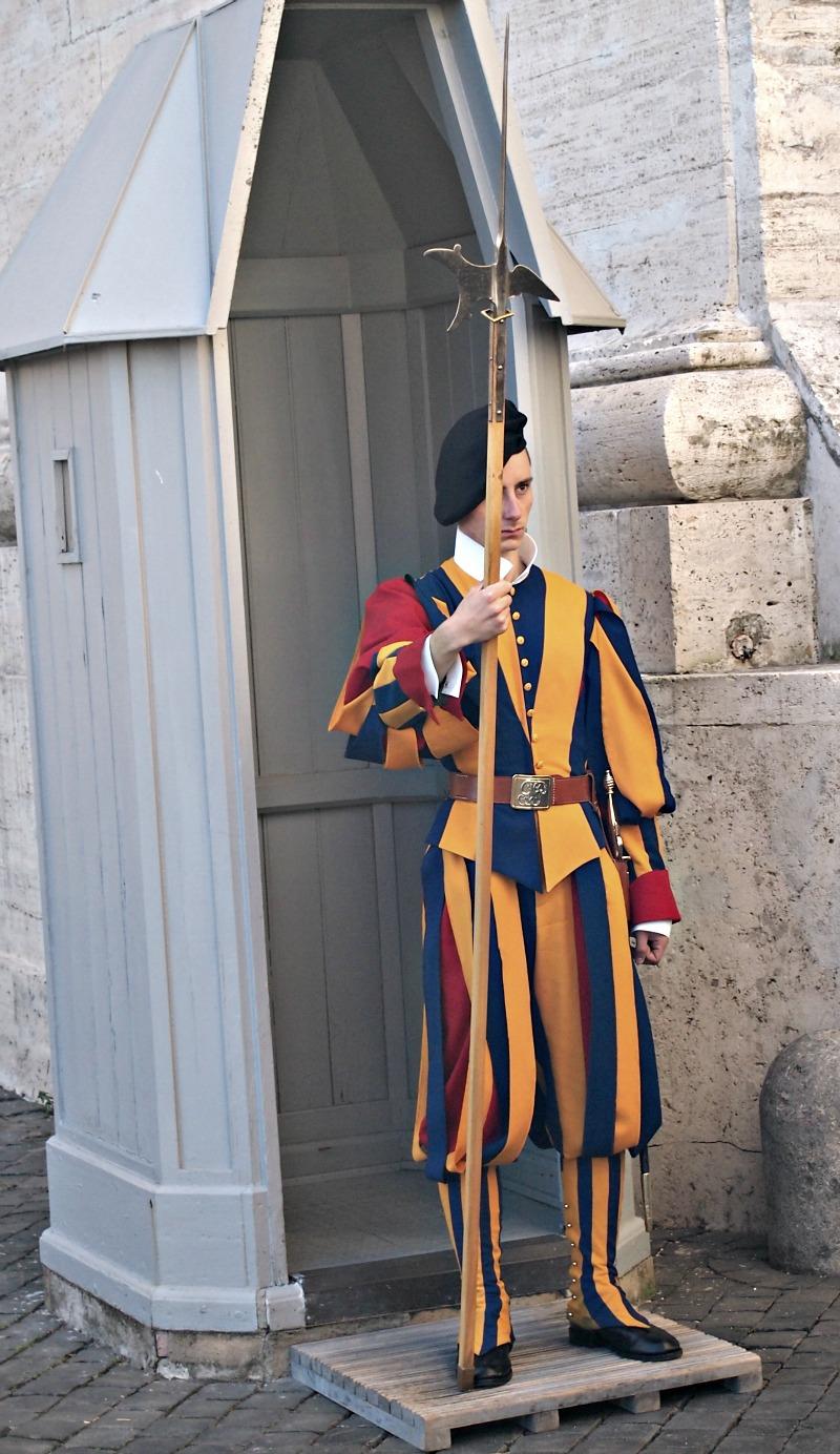 švýcarská stráž ve vatikánu