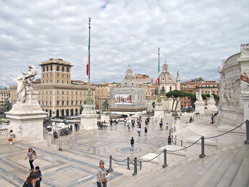 náměstí vittoriano