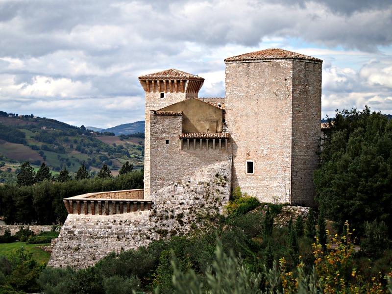 střední itálie památky