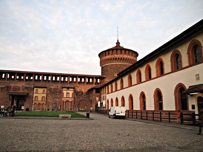 hrad Sforzesco