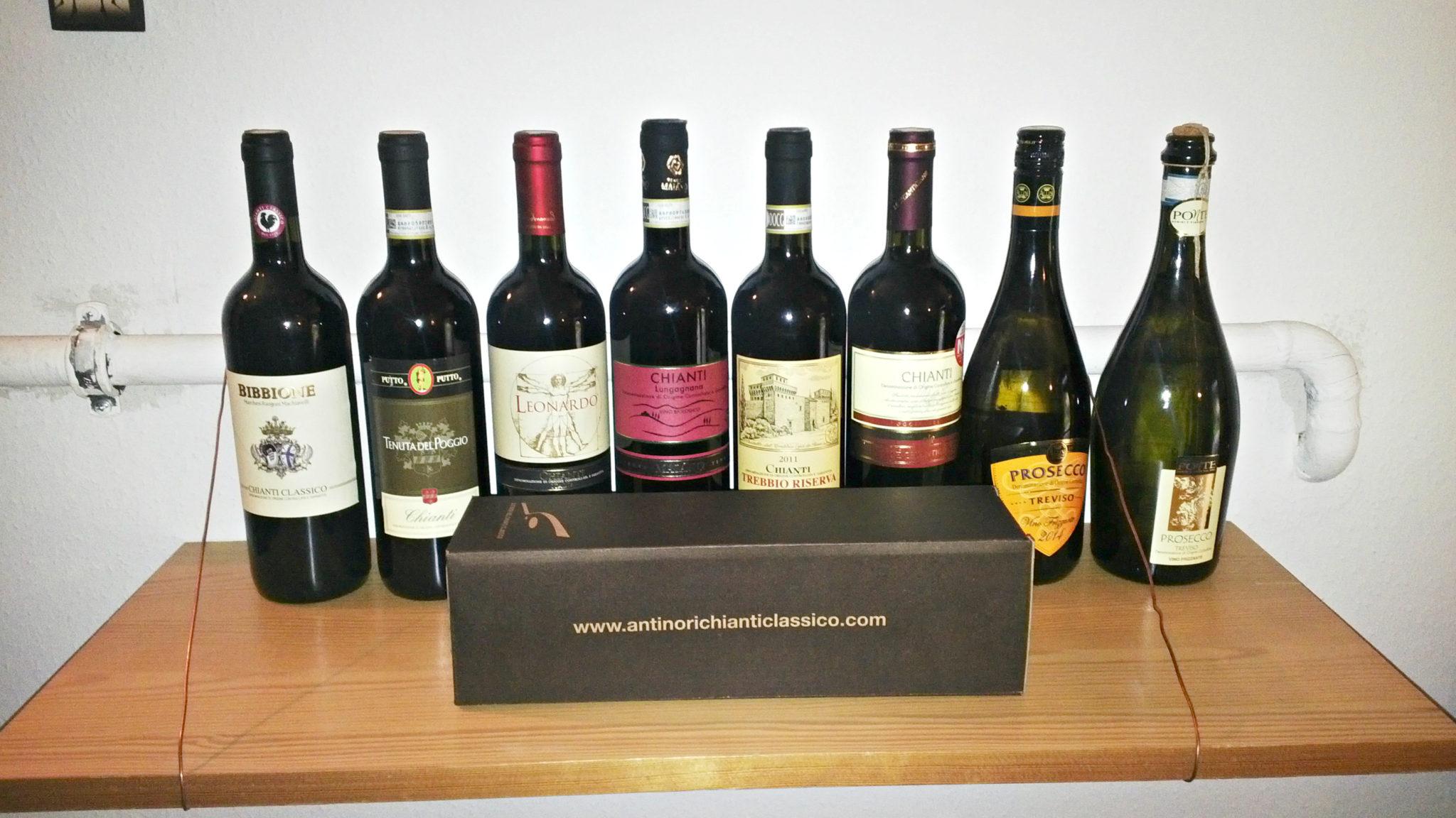 italské víno chianti