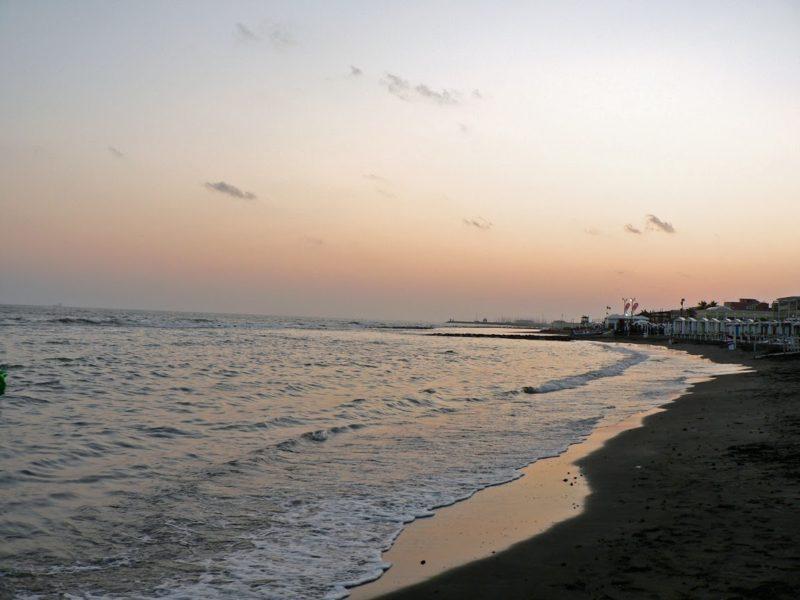 itálie moře