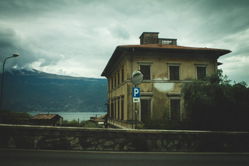 jezero garda itálie