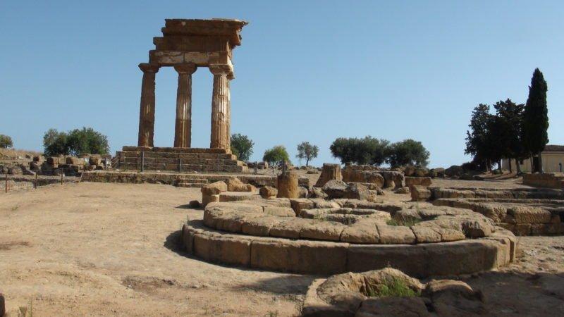 Valle dei Templi - Tempio Diosauri