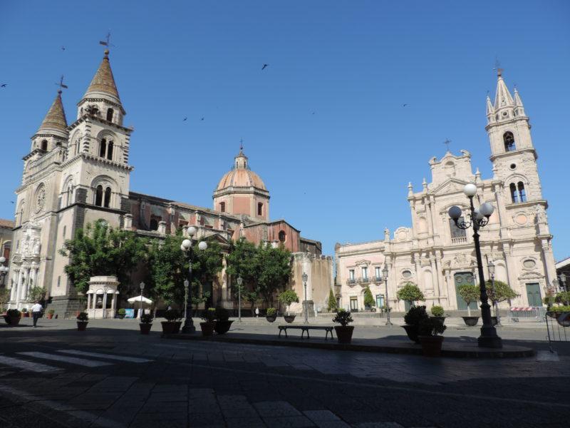 Acireale - katedrála Maria Santissima Annunziata