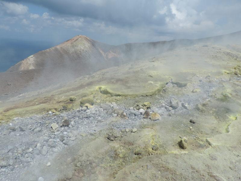 ostrov Vulcano isole Eolie - Gran Cratere
