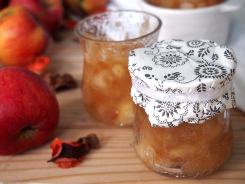 jablečná zavařenina mostrda