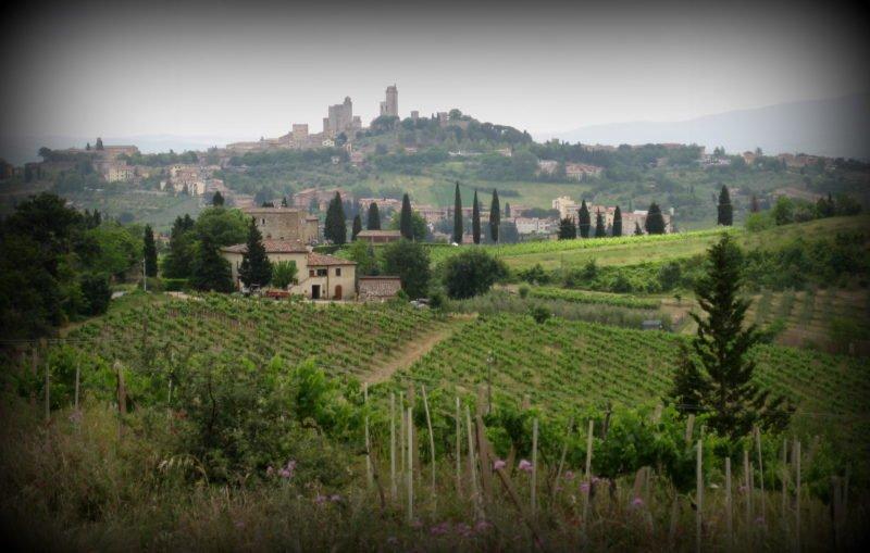 San Gimignano pohled