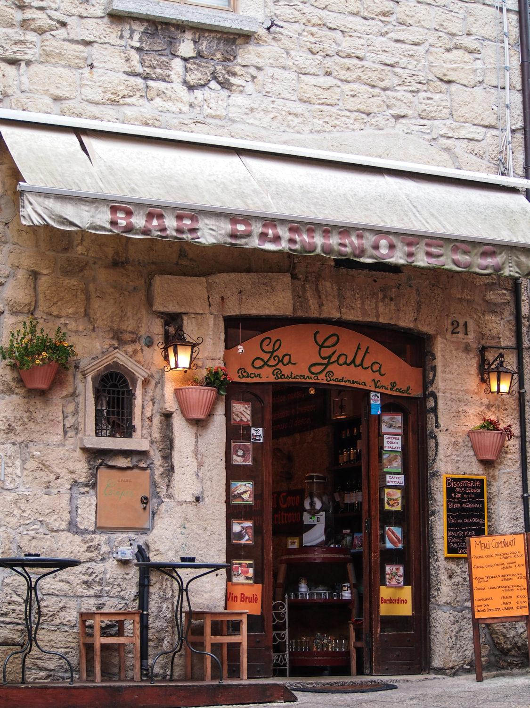 italský bar