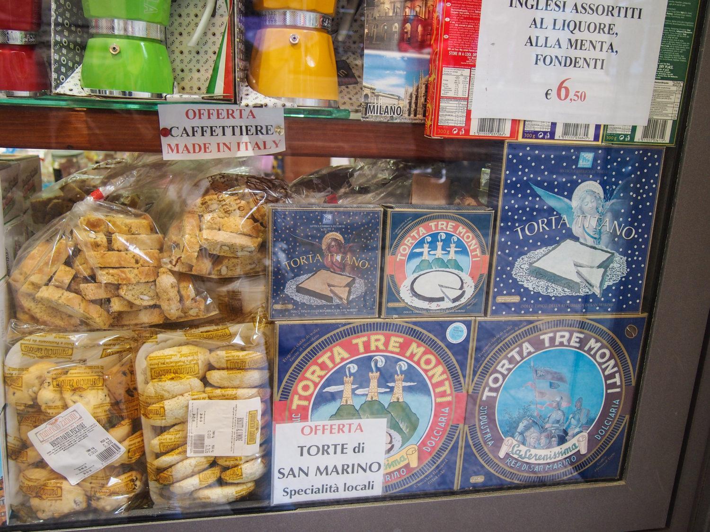 typické dezerty itálie san marino