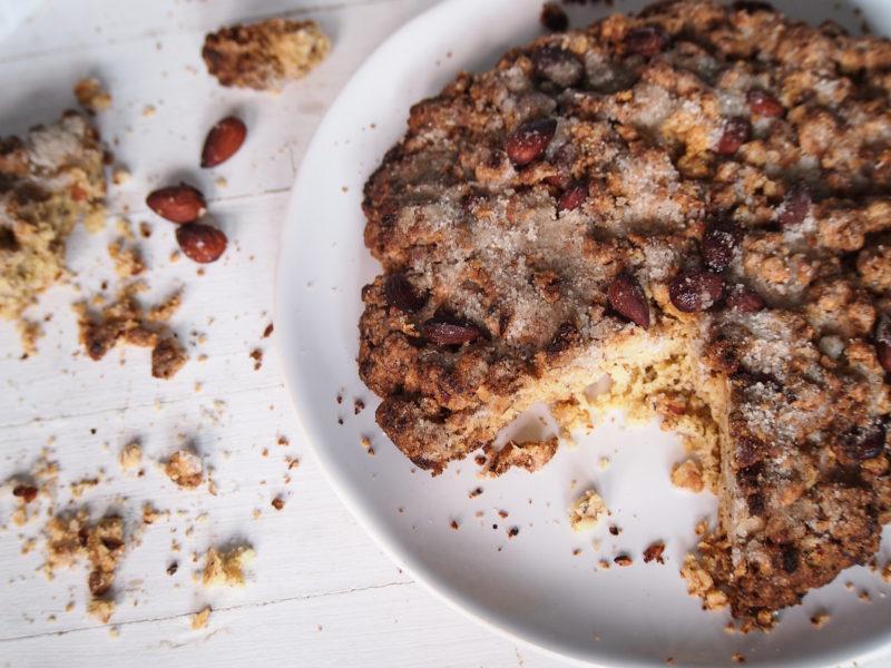 italský koláč s mandlemi