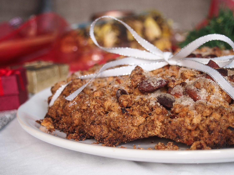 italský dezert s mandlemi