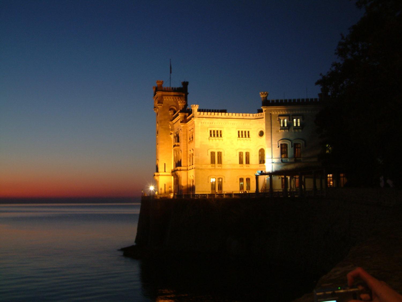 itálie hrad