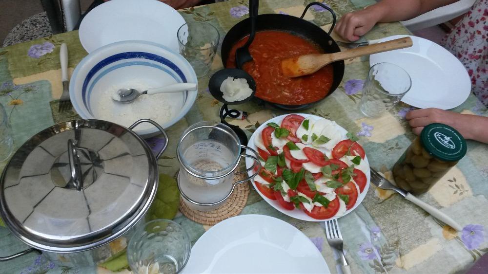 kuchyně sardinie