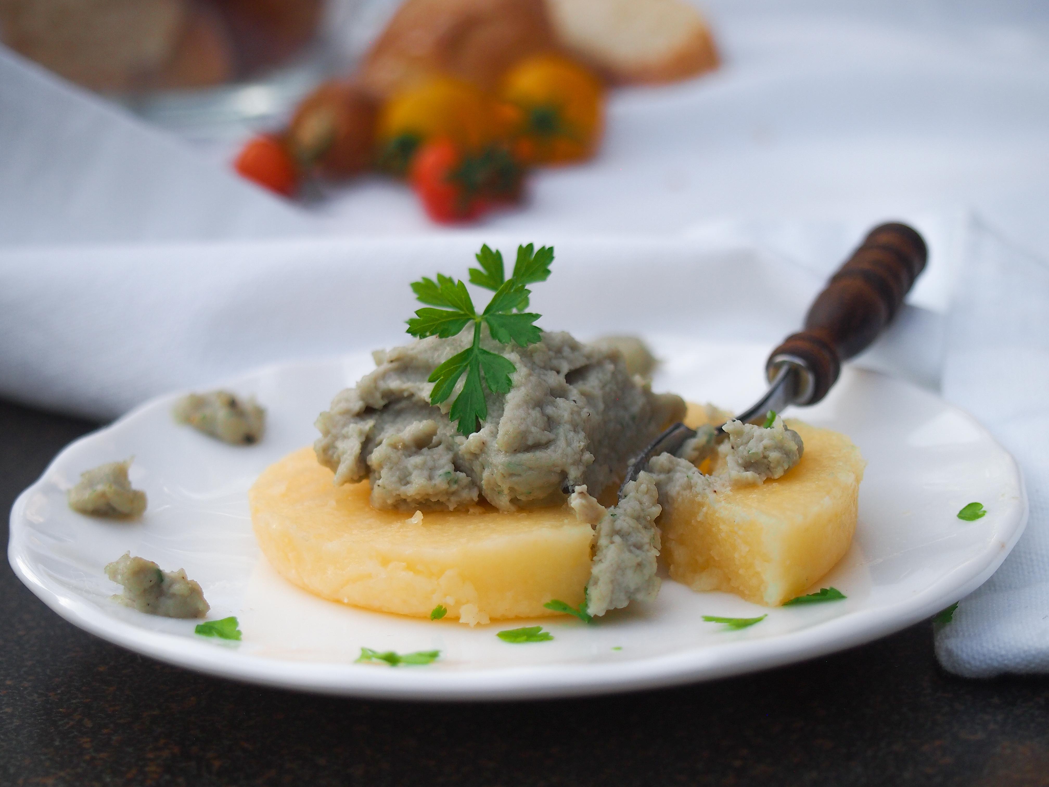 polenta krém z tresky