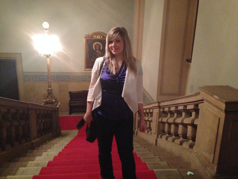 bloggerka na italské ambasádě