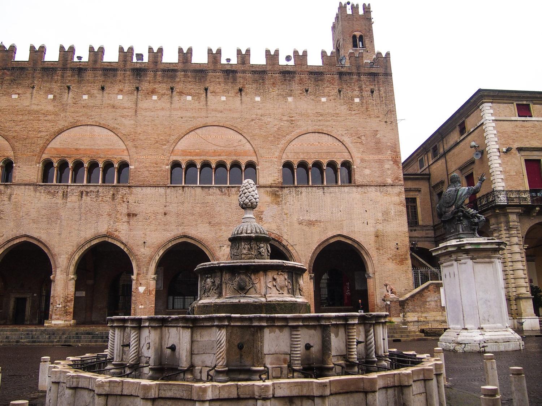památky rimini itálie