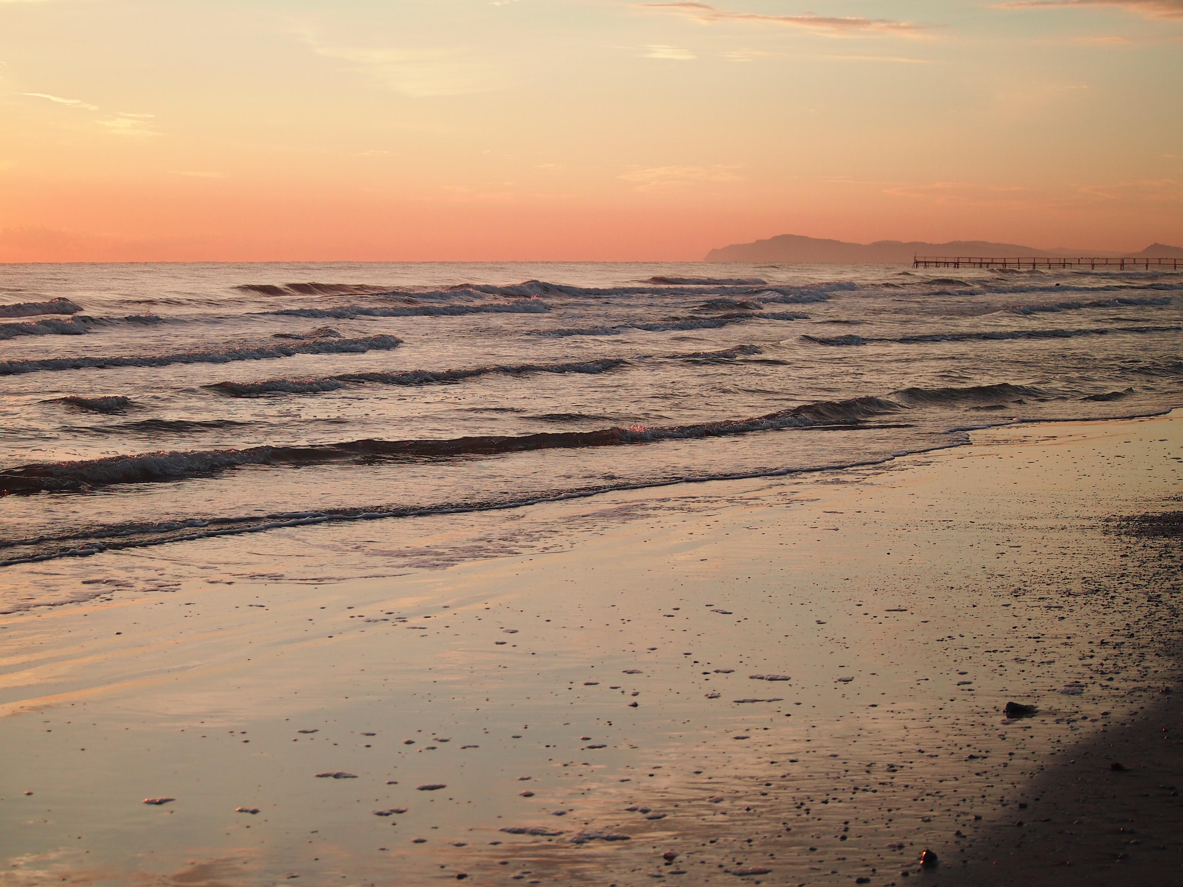 moře a pláže v rimini