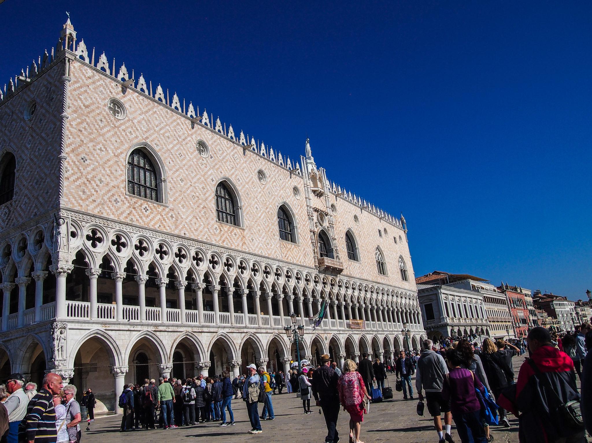 palazzo ducale centrum benátky