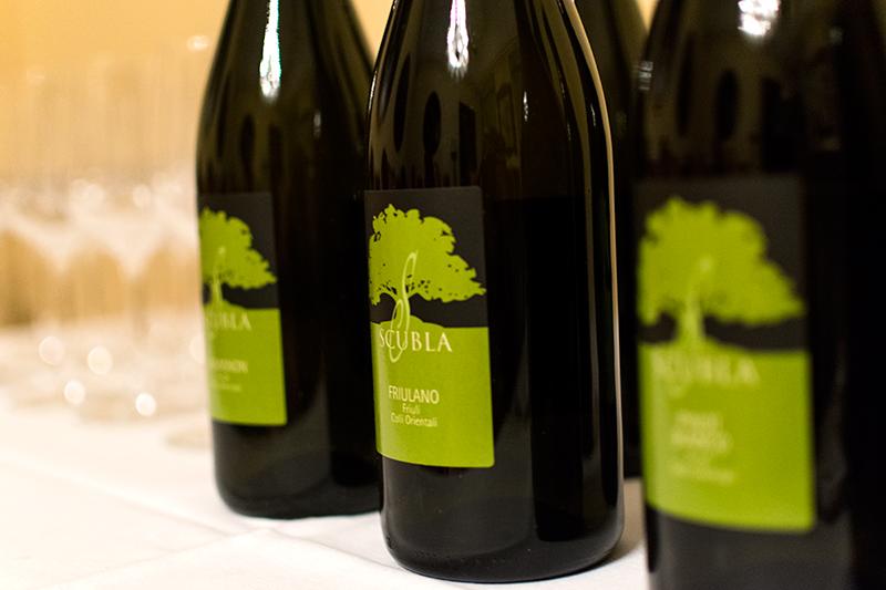 bílé víno itálie